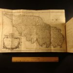 1768 1st ed Account of Corsica James Boswell Genoa Pasquale Paoli HUGE MAP