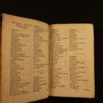 1583 Hadrianus Junius Polyglot Dictionary Lexicon Dutch Latin Byzantine Plantin