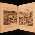 1880 Swiss Pictures Illustrated Switzerland Travel Alps Switzerland Mont Blanc