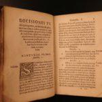 1545 Medieval ITALIAN LAW of Jaffredus Balbus / Balbi CIVIL Jurisprudence Court