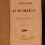 1857 The Old Regime Alexis de Tocqueville French Revolution Anarchy Feudalism