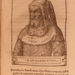 1549 1ed VISCONTI Giovio Medieval Italian Sforza Milan Italy Woodcut Portraits