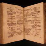 1736 Clemens von Burghausen German Protestant Bible Sermons HUGE FOLIO