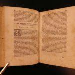 1572 1st ed Novellino Carlo Gualteruzzi Italian Tales Sexuality VULGAR Proverbs