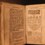 1636 Grounds of Divinitie Elnathan Parr EARLY PURITAN Devotional Calvinism