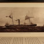 1878 1st ed On a Man-of-War Naval Sketches Military American Marines Navy