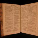 1683 1ed Summa Theologiae Scholasticae Becanus HUGE FOLIO w/ Louis XIV ARMS!