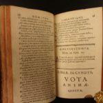 1670 Herman Hugo Pia Desideria OT Bible Emblemata Illustrated EMBLEMS Poetry