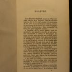 1872 EXQUISITE Moliere Complete Works Tartuffe Misanthrope Illustrated French 2v