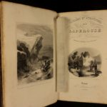 1839 1st ed Voyages of Laperouse Oceania Shipwreck Adventures Illustrated Samoa