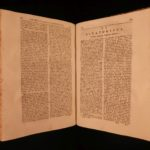 1758 Works of Cyprian Bishop of Carthage Early Christian MARTYR Papacy FOLIO