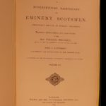 1875 Biographical Dictionary of Eminent Scotsmen Scotland Illustrated Portraits