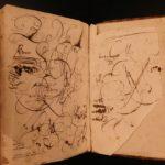 1684 Matthias Martinez 4 Language Dictionary Tetraglotton French Greek Belgian