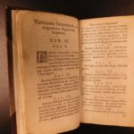 1645 1ed RARE Francis Bacon Augmentis Scientiarum Philosophy Science Technology