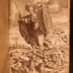1672 1ed History of University PRAGUE CZECH Education Philosophy LAW Economics