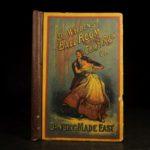 1890 1st ed Ballroom DANCING & DANCE Walden Waltz Polka Music Mazurka FASHION