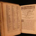 1673 1ed Alexander Alexandro Neapolitan Jurisprudence Roman LAW Ghosts NAPLES