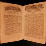 1684 Johann Kahl Feudale Lexicon Civil Criminal LAW Roman Jurisprudence Godefroy