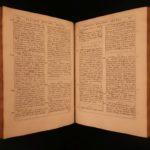 1664 Lyra Prophetica Davidis Victorinus Bythner Analysis of PSALMS Hebrew Bible