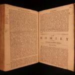 1683 Oxford Bible Sermons ELIZABETHAN Church of England 39 Articles Anglican