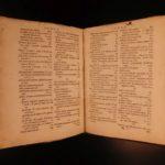 1638 1ed Moses Maimonides Sepher Ha-Madah Fundamentals of Judaism Hebrew Jewish