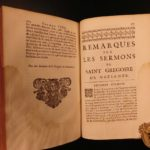 1693 Sermons Saint Gregory of Nazianzen Byzantine Greek Orthodox Constantinople