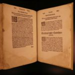 1588 Gerichtzordnung Bavarian LAW William IV Duke of Bavaria Bayern FOLIO