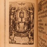 1637 EXQUISITE FINE BINDING Catholic Church Office Virgin Mary Breviary Missal