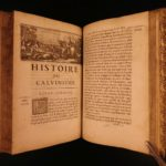 1682 1st ed History of Calvinism John Calvin Huguenot Reformation Martin Luther