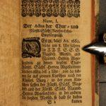 1698 Samuel Styrk on Feudalism Holy Roman Empire & German LAW Latin Juris