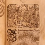 1541 1st German ed PLUTARCH Parallel Lives Alexander the Great Hieronymus Boner