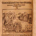 1541 1st German ed PLUTARCH Parallel Lives Alexander the Great Hieronymus Boner