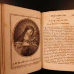 1791 Annibali Monastic Religious Orders Carmelite Dominican 42 Portraits 3v SET