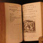 1670 Giacomo Tomasini Roman Catholic Hospitality Titus LIVY Letters Pavia Italy