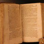 1622 Manuel de Sa Aphorismi Confessariorum on Forbidden Book Index Inquisition