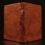 1644 Francis Bacon Sermones Fideles Essays Elzevir Economics Science Crime LAW