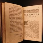 1644 Francis Bacon Sermones Fideles Essays Elzevir Economics Science Crime LAW