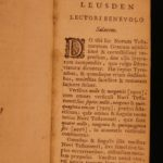 1701 EXQUISITE Leusden Greek BIBE Fine Binding Calvin & Calvinism RARE