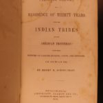 1851 1ed Schoolcraft Indian Tribes Geography Geology Personal Memoirs Michigan