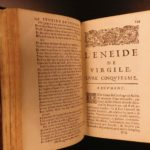 1664 Virgil Aeneid Roman Poetry Classical Literature Mythology Perrin French
