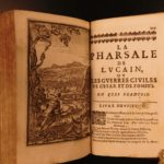 1666 PHARSALIA Lucan Julius Caesar Civil War Pompey Military Rome Supernatural