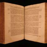 1571 HUGE LAW FOLIO Andre Tiraqueau De Utroque Retractu Municipali Latin French