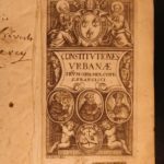 1676 Pope Urban VIII Constitution Catholic Church RULE Saint Francis Friars Minor
