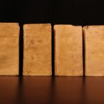 1719 Boyvin Philosophy Logic Science Metaphysics Nature Duns Scotus 4v SET Vellum