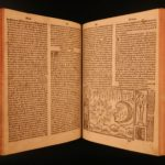 1525 Bartholomew Anglicus Proprietaire Medicine Astronomy Demons Angels French