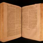 1632 HUGE FOLIO Martin Bonacina Theology of Commerce Economics Banking LAW