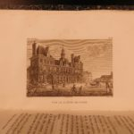 1823 Description of Paris France Dulaure Atlas MAPS Castles Illustrated 10v