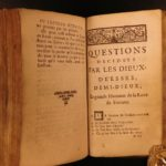 1698 Oracle of Sibyls Comiers Fortune Kabbalah Prophecy Occult Pagan Mysticism