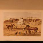 1855 Campaign of Sebastopol Illustrated Map Crimean War Battle Crimea Turkey