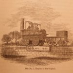1859 George Stephenson Railway Engineer Railroads Trains Steam Engines